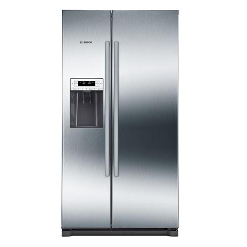 лучшая цена Холодильник BOSCH KAI90VI20R, двухкамерный, нержавеющая сталь