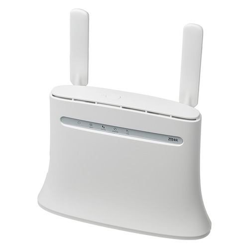 Интернет-центр ZTE MF283RU, белый интернет центр zte mf283ru белый