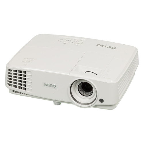 Фото - Проектор BENQ MS527, белый [9h.jfa77.13e] проектор viewsonic ps750w dlp 3300lm 10000 1 3000час 2xusb typea 1xhdmi 6 1кг