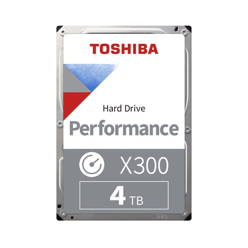 Жесткий диск TOSHIBA X300 HDWE140UZSVA, 4Тб, HDD, SATA III, 3.5
