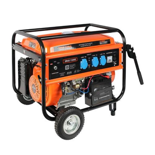 цена на Бензиновый генератор PATRIOT SRGE 7200E, 220 В, 6.5кВт [474103188]