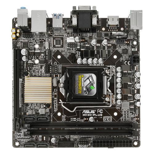Материнская плата ASUS H110I-PLUS, LGA 1151, Intel H110, mini-ITX, Ret цены онлайн
