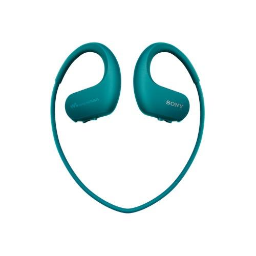 лучшая цена MP3 плеер SONY NW-WS413 flash 4Гб голубой [nwws413l.ee]