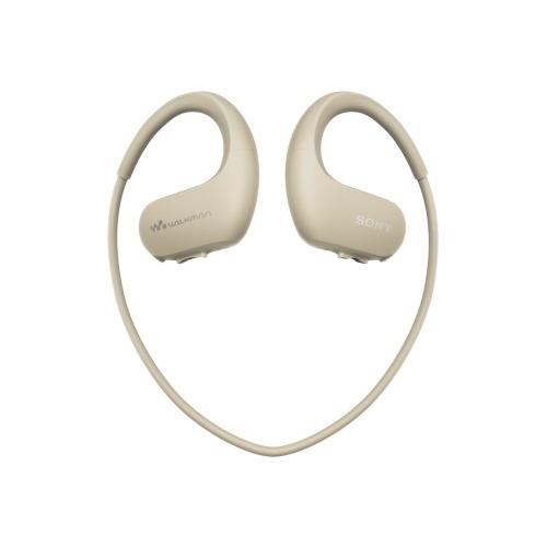 лучшая цена MP3 плеер SONY NW-WS413 flash 4Гб кремовый [nwws413c.ee]