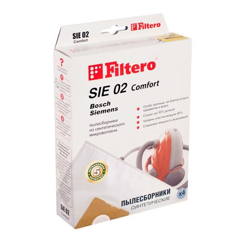 цена на Пылесборники FILTERO SIE 02 Comfort, пятислойные, 4
