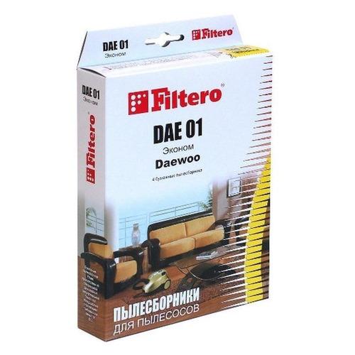 Пылесборники FILTERO DAE 01 Эконом, бумажные, 4 цена и фото
