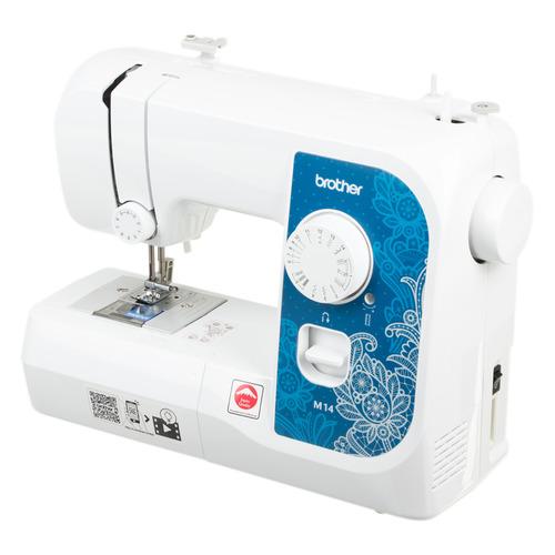 цена Швейная машина BROTHER M14 белый онлайн в 2017 году