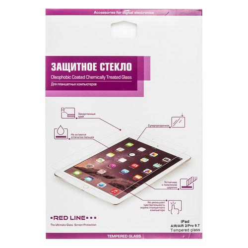 Защитное стекло REDLINE для Apple iPad Air/Air2/Pro 9.7/2018, прозрачная, 1 шт [ут000005067] цена и фото
