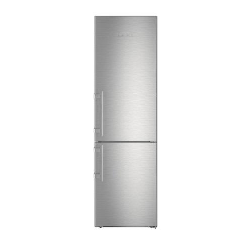 лучшая цена Холодильник LIEBHERR CBNef 4815, двухкамерный, серебристый