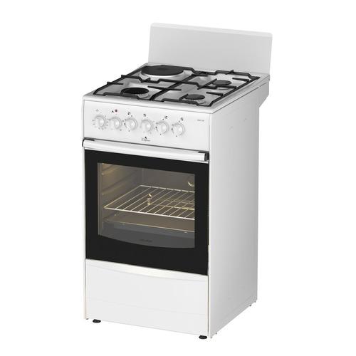 цена на Газовая плита DARINA 1A KM 341 322 W, электрическая духовка, белый