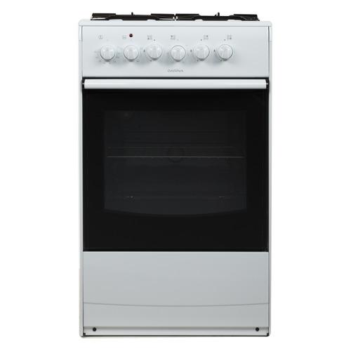 цена на Газовая плита DARINA 1A KM 341 321 W, электрическая духовка, белый