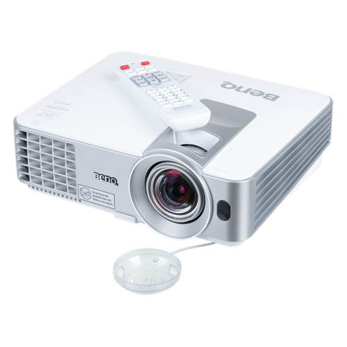 Фото - Проектор BENQ MW632ST, серый [9h.je277.13e] мультимедийный проектор infocus in136st black dlp 1280 х 800 16 10 4000 lm 28500 1