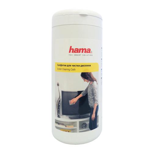 цена на Влажные салфетки HAMA R1095850, 100 шт (туба)