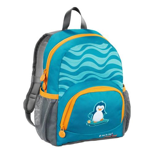 Рюкзак детский Step By Step Junior Dressy little penguin голубой/серый Пингвин