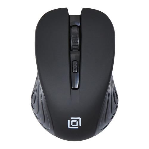 лучшая цена Мышь OKLICK 545MW, оптическая, беспроводная, USB, черный и черный [tm-5500 black]
