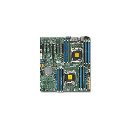 Серверная материнская плата SUPERMICRO MBD-X10DRH-IT-O, Ret комплект для монтажа в стойку supermicro mbd x10drl it o mbd x10drl it o
