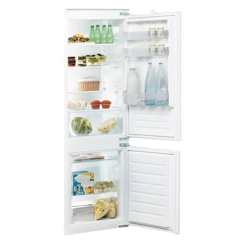 Встраиваемый холодильник INDESIT B 18 A1 D/I белый indesit b 18 a1 d i