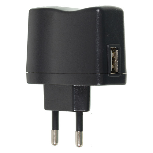 лучшая цена Сетевое зарядное устройство BURO XCJ-021-1A, USB, 1A, черный