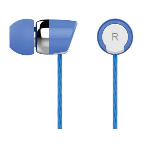 Наушники с микрофоном OKLICK HS-S-230, 3.5 мм, вкладыши, синий [s20] наушники oklick hs s 230 blue