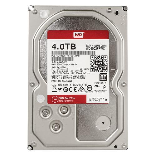 Купить Жесткий диск WD Red Pro WD4002FFWX по выгодной цене в интернет- магазине СИТИЛИНК - Москва 04677a79fc6f3