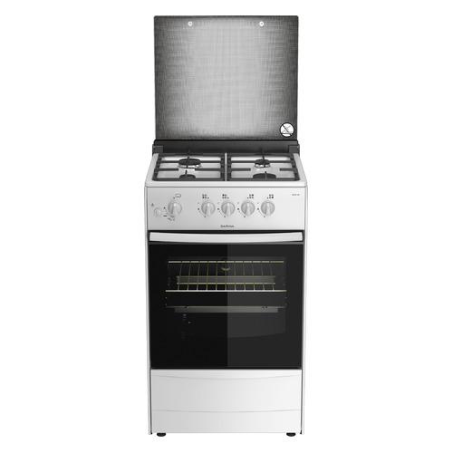 лучшая цена Газовая плита DARINA 1B1 GM 441 008 W, газовая духовка, белый