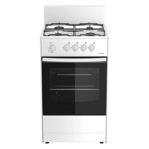 лучшая цена Газовая плита DARINA S4 GM 441 101 W, газовая духовка, белый