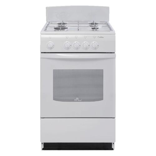 Газовая плита DE LUXE 5040.38г, газовая духовка, белый [5040.38г бел.] газовая плита de luxe 506040 05г газовая духовка белый
