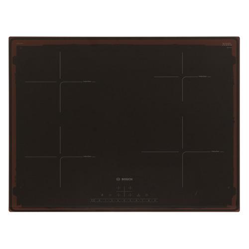 Варочная панель BOSCH PIE631FB1E, индукционная, независимая, черный