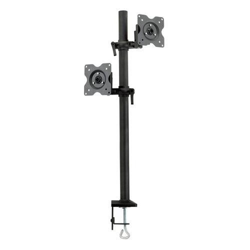 Фото - Кронштейн для мониторов ЖК Kromax OFFICE-5 серый 13-32 макс.12кг настольный поворот и наклон 3d очки