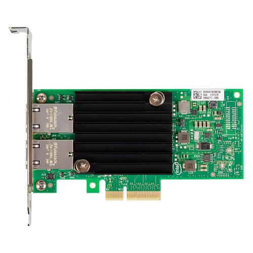Сетевая карта Intel Original X550T2BLK 2xRG45 10Gb/s PCI-E 3.0x8 Low Profile (X550T2BLK 940136) сетевой адаптер intel x550t2blk 940136
