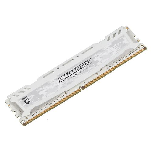 Модуль памяти CRUCIAL Ballistix Sport BLS16G4D240FSC DDR4 - 16Гб 2400, DIMM, Ret цена