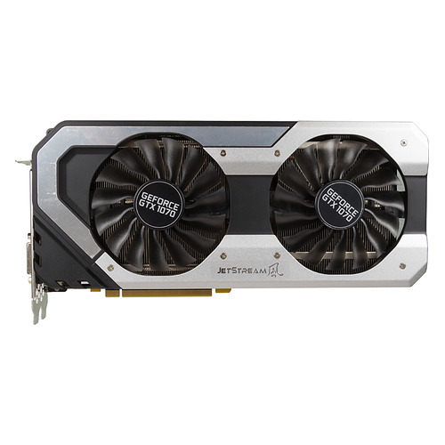 цена на Видеокарта PALIT nVidia GeForce GTX 1070 , PA-GTX1070 JETSTREAM 8G, 8Гб, GDDR5, Ret [ne51070015p2-1041j]