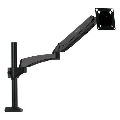 Фото - Кронштейн для мониторов ЖК Kromax OFFICE-11 черный 15-32 макс.10кг настольный поворот и наклон кронштейн для мониторов жк kromax office 2 серый 15 32 макс 10кг настольный поворот и наклон