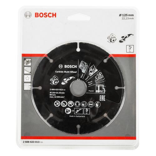 Отрезной диск BOSCH 2608623013, по дереву, 125мм, 1мм, 22.23мм отрезной круг bosch 300х25 4мм 2608623012 по дереву