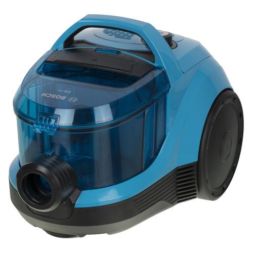 Фото - Пылесос BOSCH BGC1U1550, 1550Вт, синий/черный пылесос bosch bwd41700 черный синий