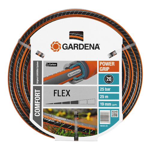 Шланг Gardena Flex 3/4 25м поливочный (18053-20.000.00) шланг поливочный elitech 1005 001600 3 4х2 5мм бухта 25м