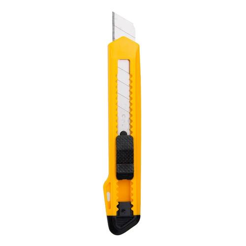 Нож канцелярский Deli E2001 шир.лез.18мм сталь ассорти пакет с европод. 24 шт./кор. цена