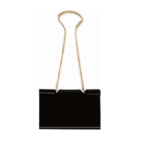 Зажимы Deli E38561 металл 51мм черный (упак.:12шт) картонная коробка 60 шт./кор. цена