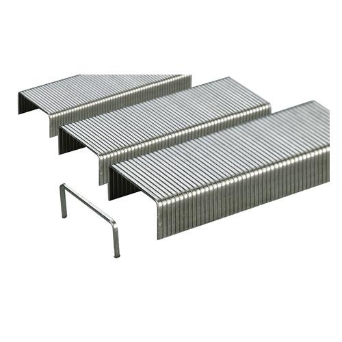 Упаковка скоб для степлера DELI E0015, 23/10, 500шт, картонная коробка 500 шт./кор. скрепки deli e0050 никелированные 50мм упак 100шт картонная коробка 10 шт кор