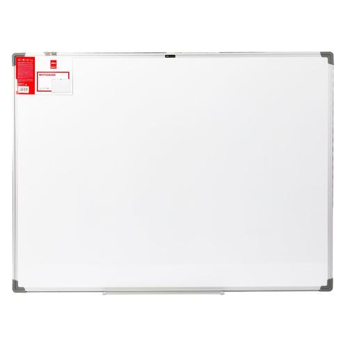 Фото - Доска магнитно-маркерная Deli E39034A лак белый 90x120см алюминиевая рама лак