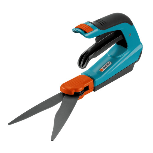 Ножницы для травы Gardena Comfort Plus синий (08735-29.000.00) ножницы для живой изгороди gardena li 40 черный 09836 20 000 00