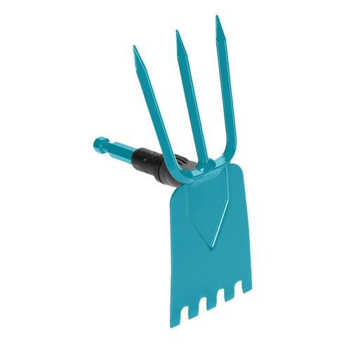 Тяпка для прополки Gardena 03219-20.000.00 9см мотыжка ручная gardena с двумя зубцами
