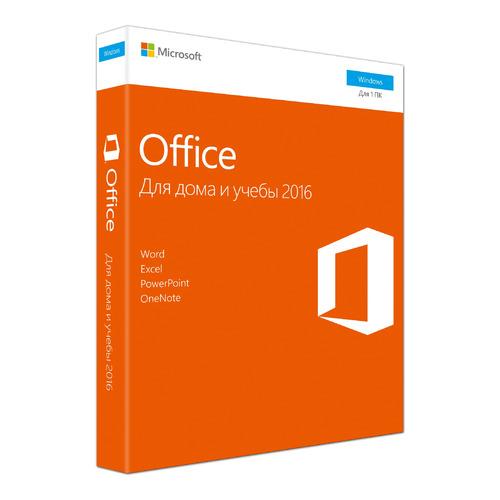 цена на Офисное приложение MICROSOFT Office для дома и учебы 2016, Rus, CEE Only [79g-04713]