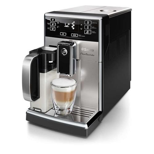 Кофемашина SAECO Incanto HD8928/09, серебристый/черный цена и фото