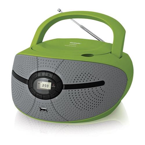 цена на Аудиомагнитола BBK BX195U, зеленый и серый