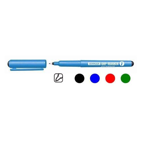 Упаковка перманентных маркеров для CD/DVD STANGER fine, черный [710010] 10 шт./кор. недорого