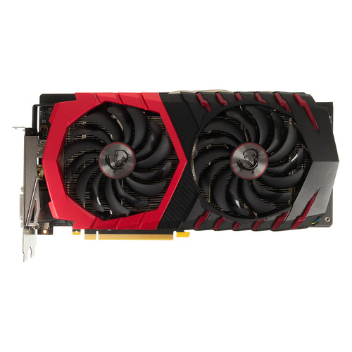 Видеокарта MSI nVidia GeForce GTX 1060 , GeForce GTX 1060 GAMING X 6G, 6Гб, GDDR5, OC, Ret цена