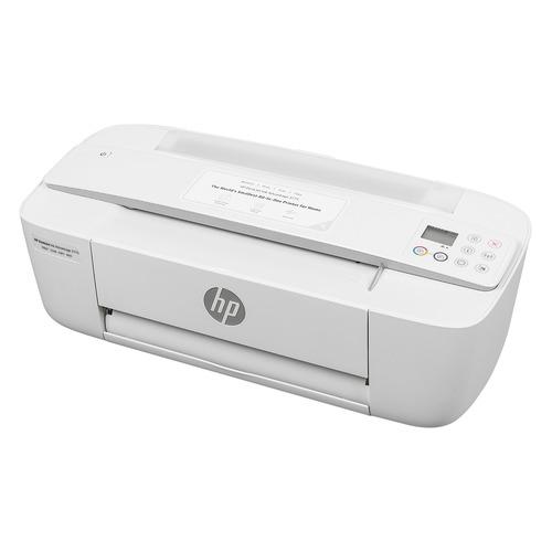 Фото - МФУ струйный HP DeskJet Ink Advantage 3775, A4, цветной, струйный, белый [t8w42c] мфу струйный hp smart tank 515 aio a4 цветной струйный черный [1tj09a]