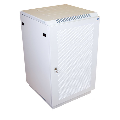 Шкаф коммутационный ЦМО (ШТК-М-18.6.8-4ААА) 18U 600x800мм пер.дв.перфор. задн.дв.стал.лист 2 бок.пан