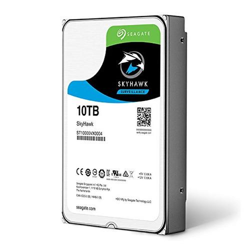 """Жесткий диск SEAGATE Skyhawk ST10000VX0004, 10Тб, HDD, SATA III, 3.5"""" цена и фото"""